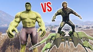 הגובלין הירוק נגד הענק הירוק (גיטיאיי 5 מודים) - GTA 5 Mods