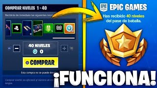 *BUG* FORTNITE REGALE 40 FREE LEVELS NOW ! SEASON 8 😱 YOU HAVE FEW HOURS!!