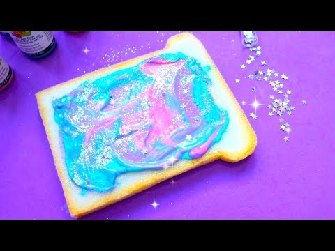 How to make a galaxy toast notebook | Easy & Cute DIY School Supplies