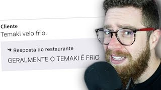 As Piores Avaliações do iFood EVER | OSHI #023