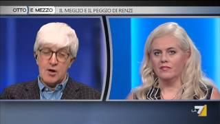Otto e mezzo - Il meglio e il peggio di Renzi (Puntata 22/12/2015)
