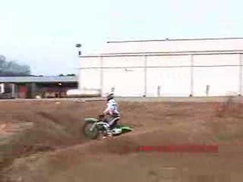 Chad Ward Supercross Testing