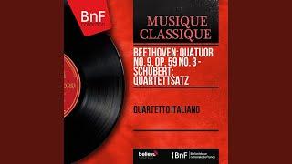 """String Quartet No. 12 in C Minor, D. 703 """"Quartettsatz"""""""