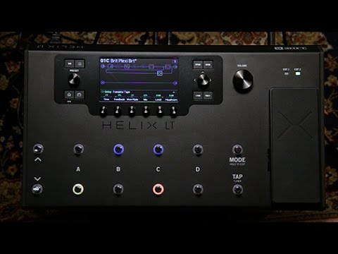 Line 6 Helix LT Guitar Processor