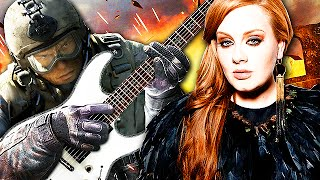 "EPIC GUITAR PLAYER on CALL OF DUTY BLACK OPS! ""Adele - Hello"" #3"