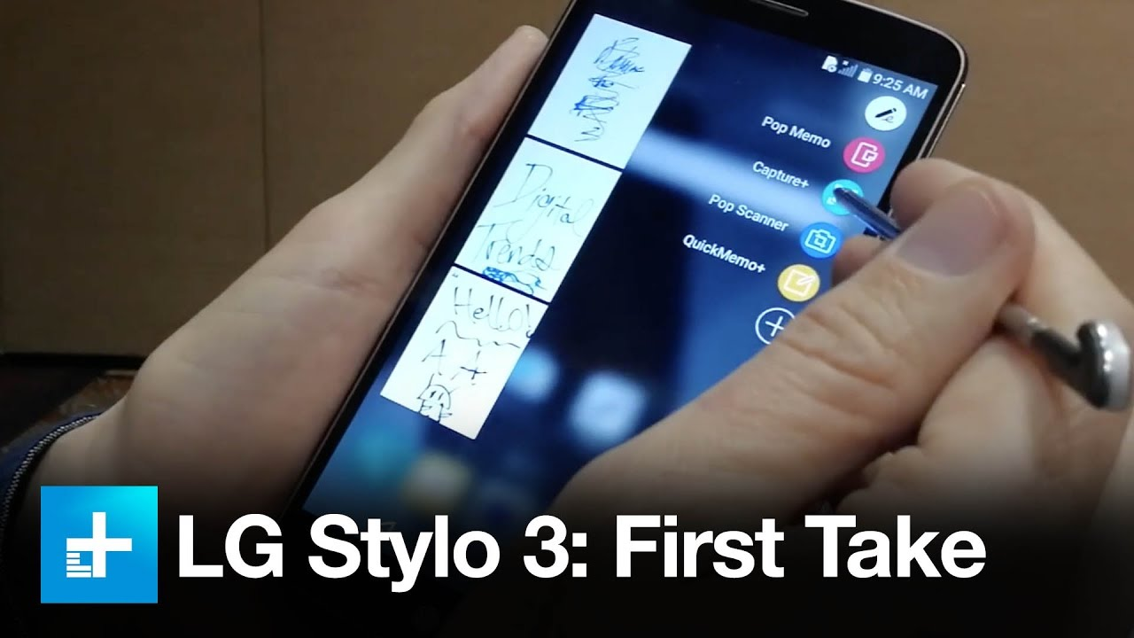 LG Stylo 3: Our First Take