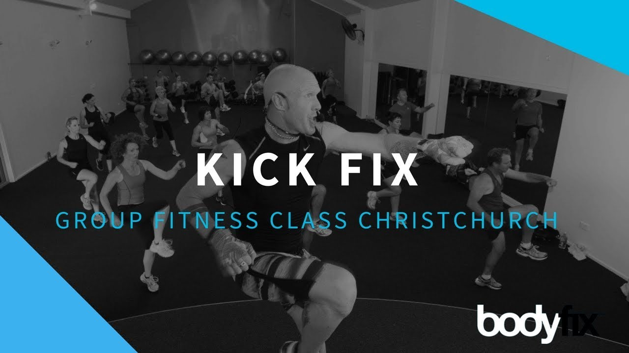 Kick Fix | Kickboxing & Boxing Classes Christchurch | BodyFix