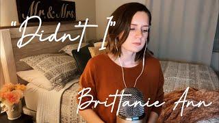 Download Lagu Didn t I - One Republic Cover by Brittanie Ann MP3