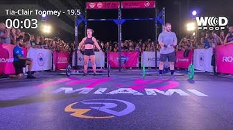 19.5 Open Announcement in Miami with Mat Fraser