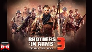 Brothers in Arms 3: Sons of War (by Gameloft) - iOS / Android / Windows Phone - Gameplay Video