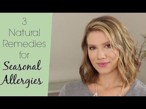 3 Natural Ways to Combat Seasonal Allergies / The Healthy Girl's Guide // Laura's Natural Life