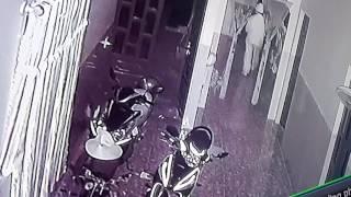 Trộm tại nhà bà Thủy Lò mổ bù nho bị camera quay lại.