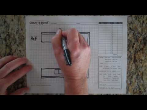 How To Measure Countertops Presented by Granite Direct YouTube