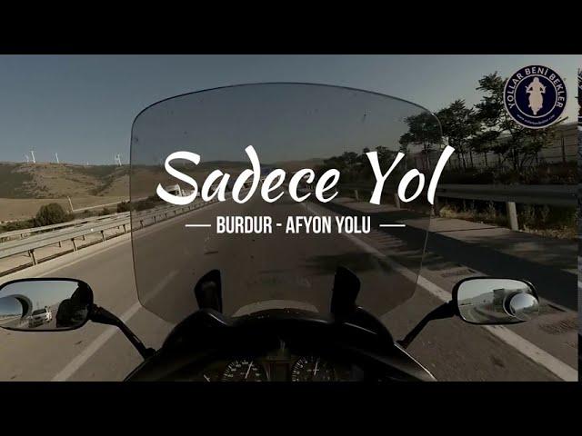 SADECE YOL // Motosiklet ile Burdur - Afyon Yolu // Haziran 2020 // Honda NT700V Deauville