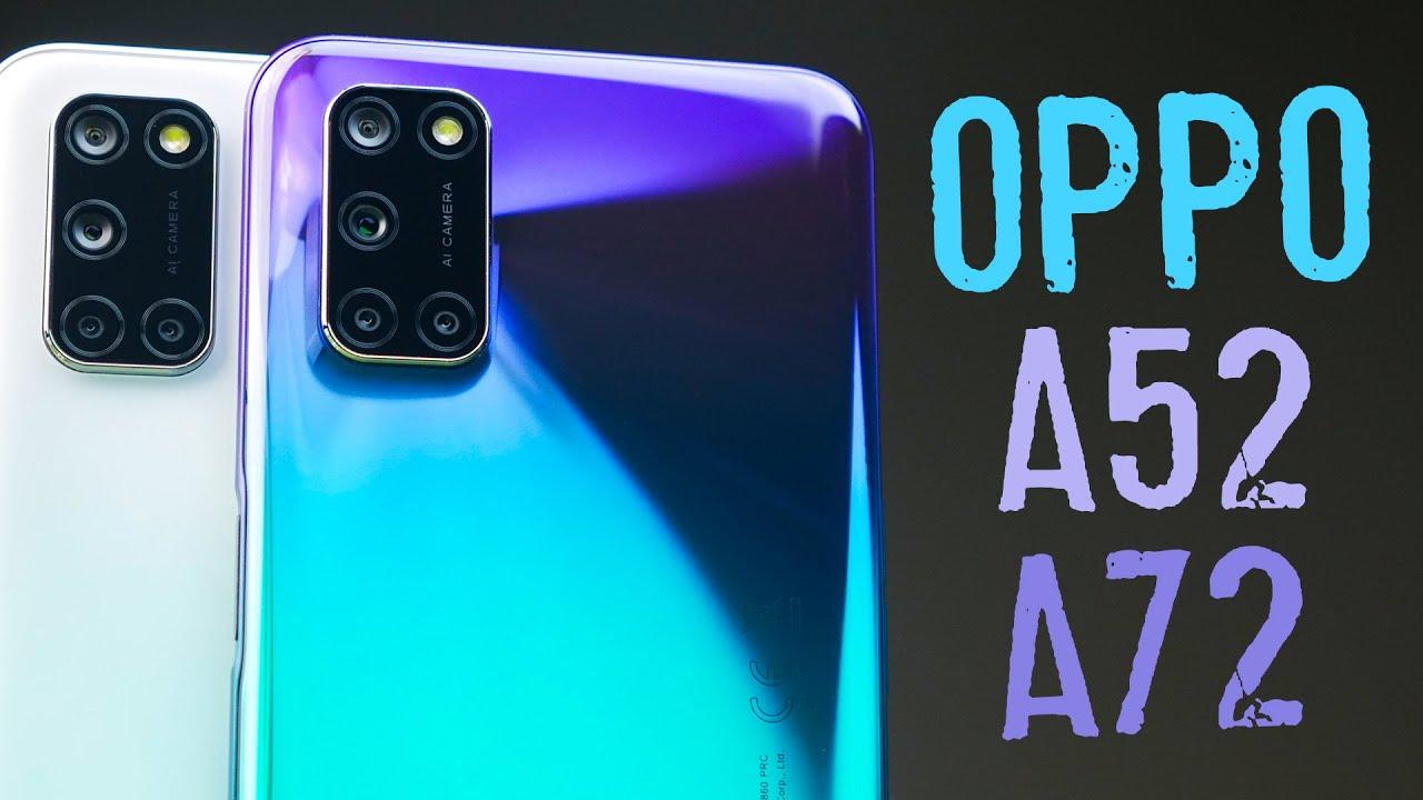 А есть ли разница?   Обзор смартфонов OPPO A52 и OPPO A72