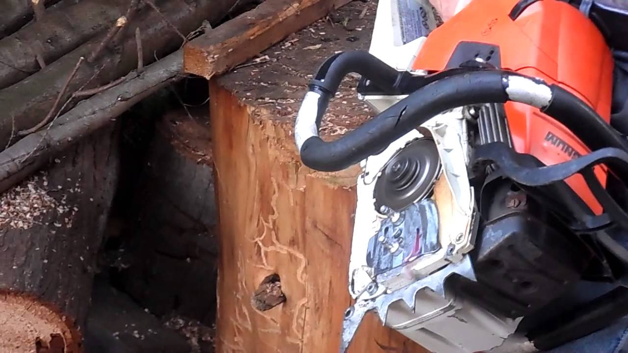 stihl ms-441 magnum for parts - youtube