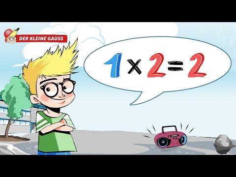 Das kleine Ein-mal-Eins zum Mitsingen und Lernen // Das 1x2 Lied - Der kleine Gauss 1x1