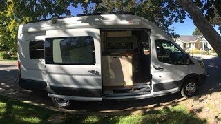 Retrofitted van is one woman's 80-square-foot answer to Bay Area housing woes
