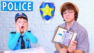 Андрей как полицейский и его обычный рабочий день в полиции