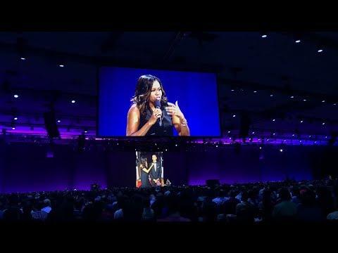 Michelle Obama speaks at WWDC 2017