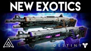 Destiny rise of iron | new exotics! voidlord & solarlord gameplay - abbadon & nova mortis