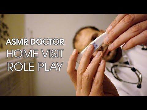 Doctor In-home Visit - Binaural ASMR Role Play.