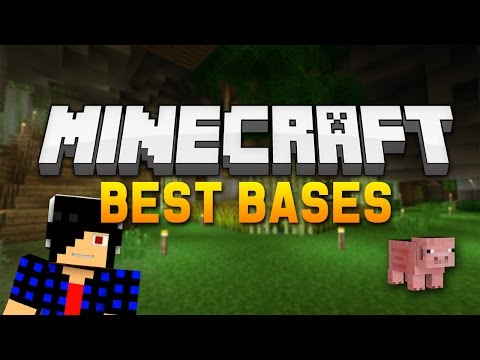 Minecraft: Finding the BEST Bases in My Server