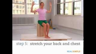 Real Simple How To: Stretch At Work