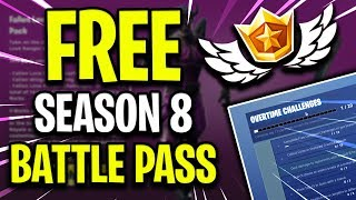 How To Get Fortnite Season 8 Battle Pass For FREE - NOT CLICKBAIT