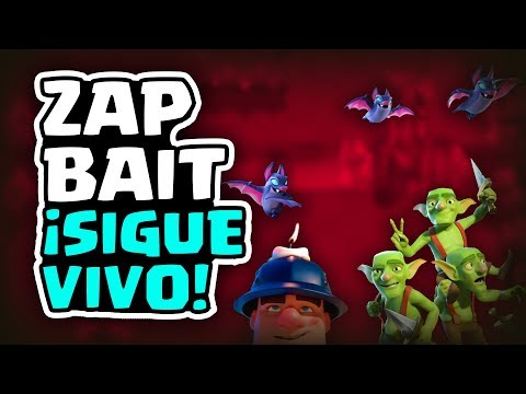 ¡EL ZAP BAIT SIGUE VIVO, ALCANZAMOS EL TOP DE ESPAÑA! | Malcaide Clash Royale
