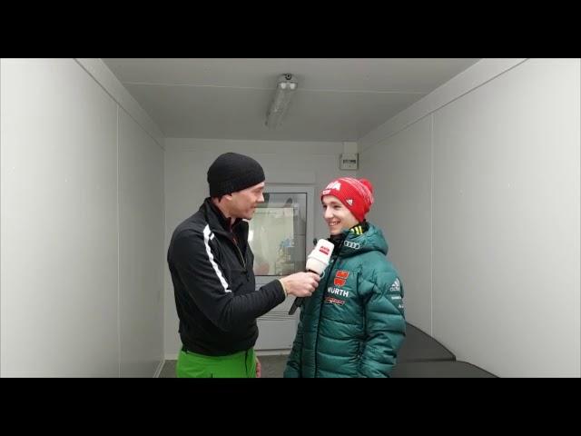 Interview Martin Hamann in Oberstdorf