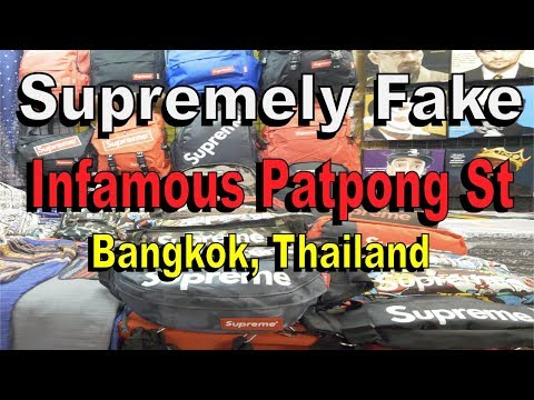 Bangkok's Supreme Fake Market in 4K 60