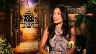 Video 'Zookeeper' interview w/ Rosario Dawson download MP3, 3GP, MP4, WEBM, AVI, FLV Juni 2017