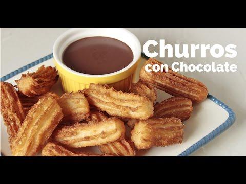 Filipino Churros Con Chocolate Recipe