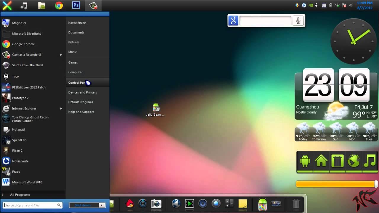 Glass Skin Pack For Windows 7 32/64 Bit