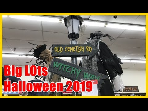 big-lots-halloween-2019-decorations,-animatronics-and-costumes