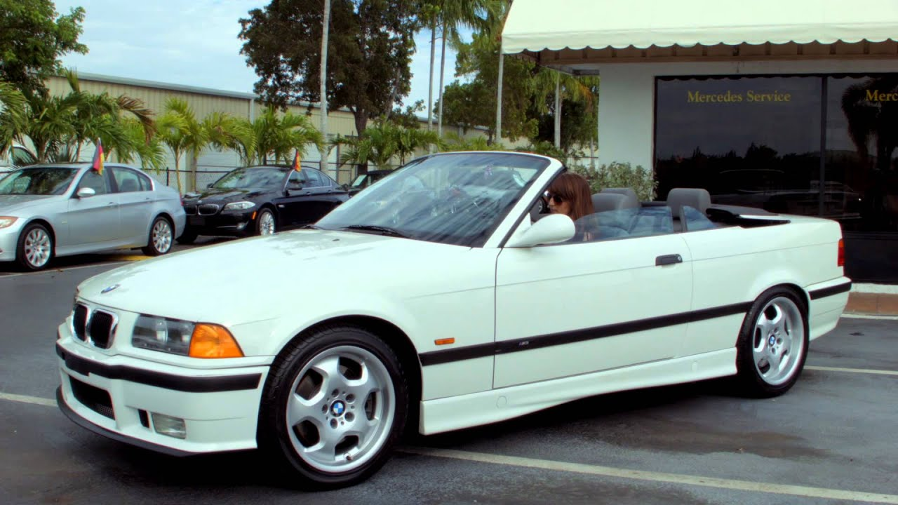BMW M Convertible Auto Haus Naples FL YouTube - 1997 bmw m3 convertible