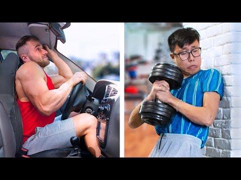 Качок vs Дрищ / Качок Против Дрища