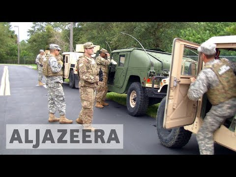 Hurricane Irma: National Guard supports emergency evacuation in Florida