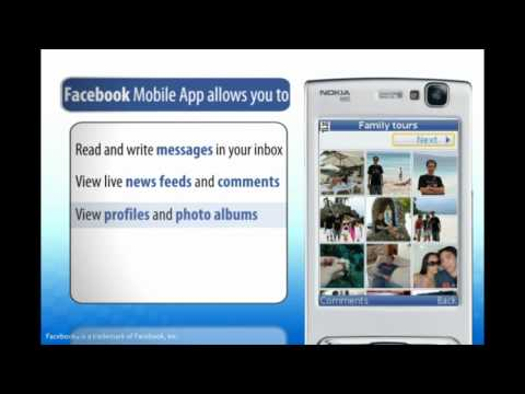 Facebook Mobile App (for Java) On SMART