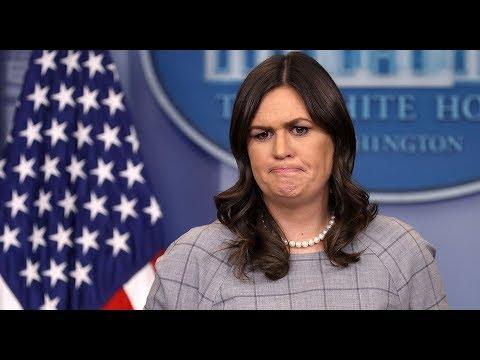 🔴LIVE: White House Press Briefing with Press Secretary Sarah Sanders 1/23/18
