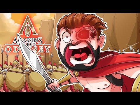 THIS IS SPARTA! (Assassins Creed ODYSSEY EXCLUSIVE Early Access)