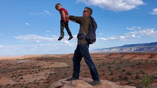 2 Weeks Camping, Hiking, Fishing and Exploring Utah - Fossil hunting, backpacking family adventure