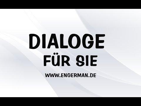 Dialoge Für Sie #1 - Deutsch Lernen Kostenlos
