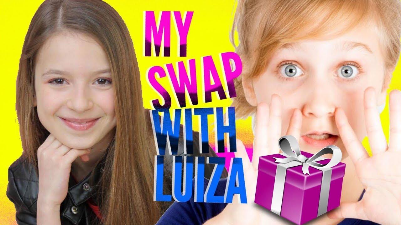 MON SWAP AVEC LUIZA !!!
