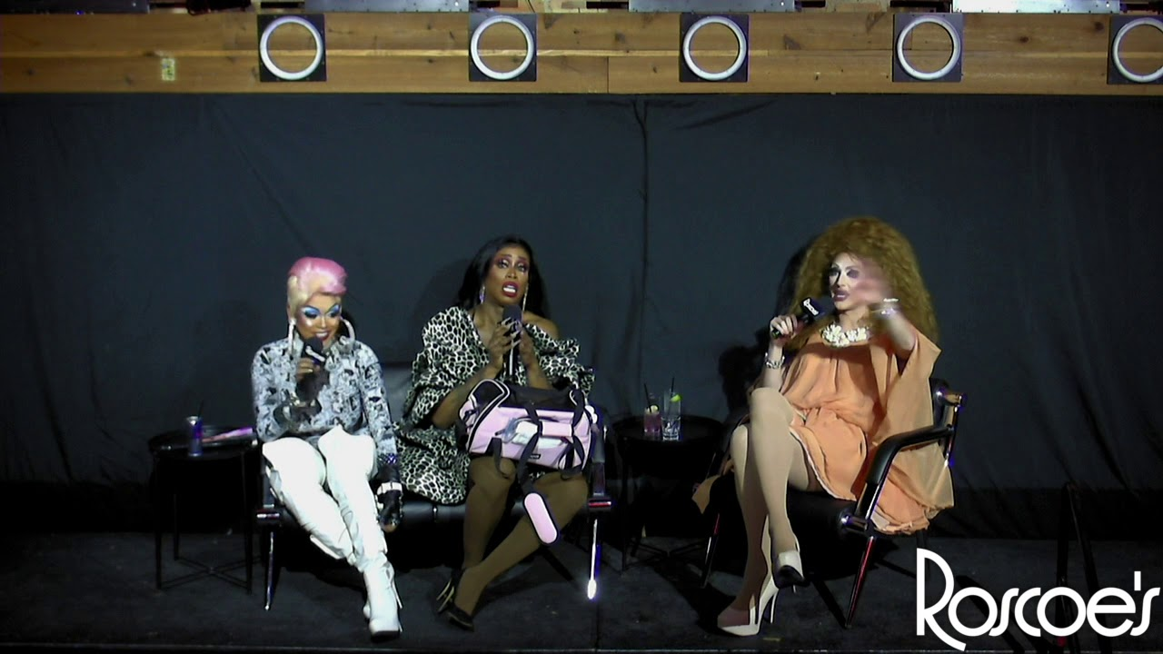 Roscoe's RPDR S11 Viewing Party with T Rex, Monique Heart & Mercedes Iman Diamond!
