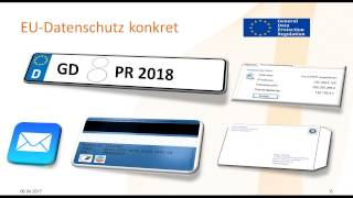 EU Datenschutz konkret - Teil 1 - Welche Maßnahmen sind wirklich notwendig