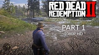 Red Dead Redemption 2 - Gameplay Walkthrough Part 1 (Chapter 1) PS4 PRO