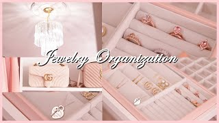 CLOSET ORGANIZATON - Organizing My Jewelry & Closet Updates