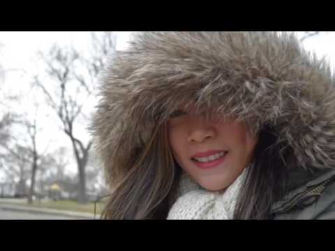 Flight Attendant TRAVEL IN USA | Winter Weather in Jersey City + Walgreens